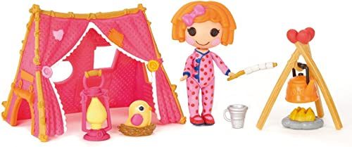 MGA Entertainment 510277E4C - Mini Lalaloopsy Spielset - Camping with Sunny Side Up