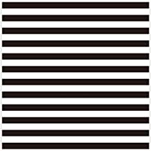 Allenjoy 8x8ft Fabric Photography backdrops Christmas Geometric Black and White Stripe Zebra Crossing line Banner Birthday Party Wedding Decoration Photo Studio Booth Newborn Baby Shower Background