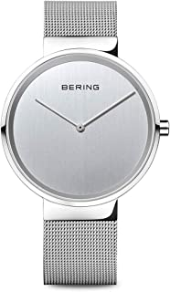 BERING Unisex Analogue Quartz Watch with Stainless Steel Strap 14539-000