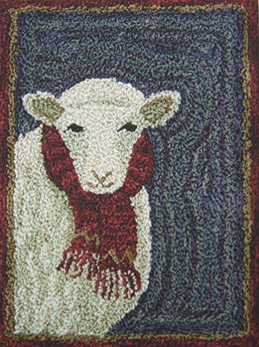 For Ewe Sheep Punchneedle Punch Needle Embroidery Teresa Kogut Pattern PN165