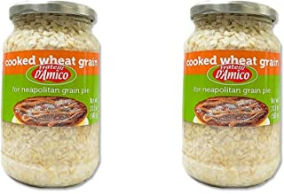 Fratelli D'Amico Cooked Wheat Grain - 20.5 oz (Pack of 2)