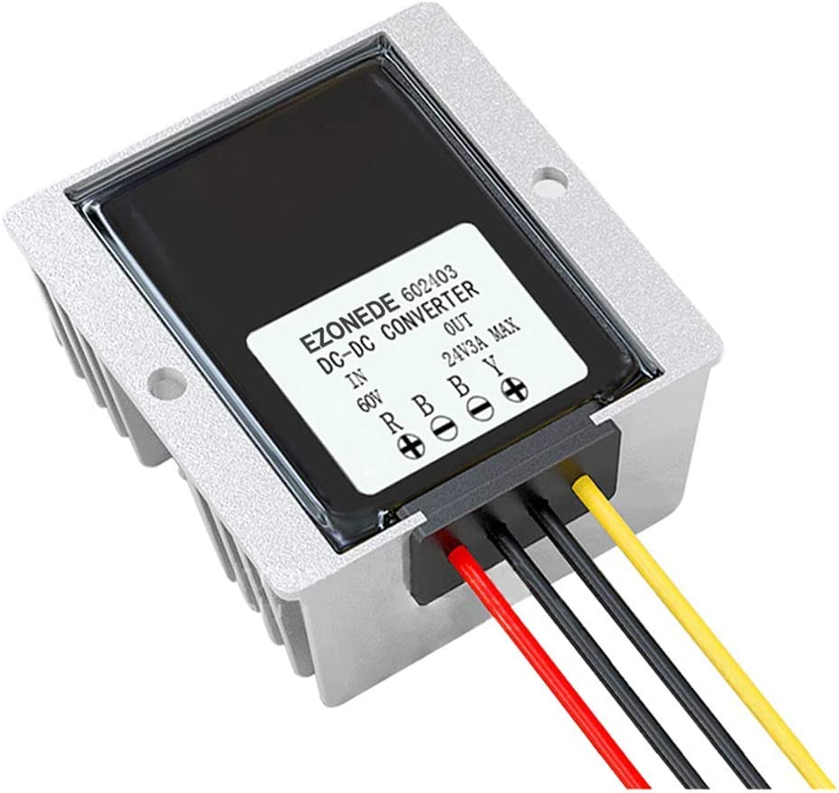 New Perfect 1PCS DC to 60V 72W 3A 30-75V OFFicial Ranking TOP10 site Waterproof 24V