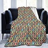 Moily Fayshow Uovo di Pasqua Color Victoria Fleece Throw Blanket Flanella Trapunta Biancheria da Letto Decor 50 'X40'