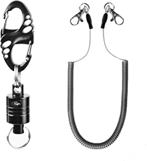 SF Strongest Magnetic Net Release Magnet Clip Holder Retractor with Cord 12 LB