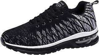 PADGENE Baskets Mode Adulte Chaussures de Sports Homme Femme Sneaker Course Fitness Multi-Sports Outdoor