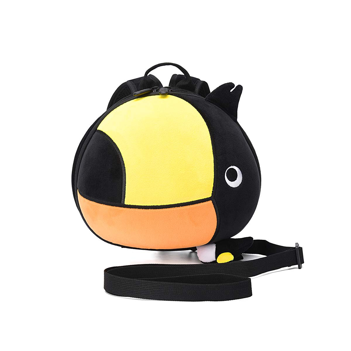 Toddler Backpack Leash for Baby,Child Backpack Harness,Plush Backpack with Leash for Girl,Kids Tether Backpack,Baby Anti Lost Harness Backpack (Toucan)
