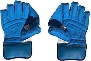 SS Catcher Premium Cricket Wicket Keeping Gloves (Cotton Inner Gloves Included), Mens Size