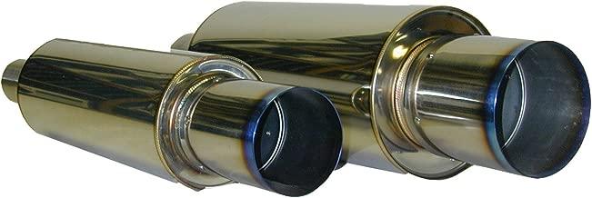 HKS 34005-FK001 Universal Stainless Hi-Power Ti Muffler