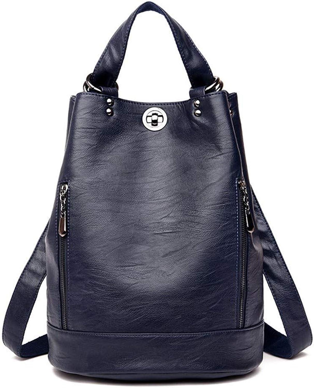 Rucksack Damen Pu Rucksack Rucksack mit groer Kapazitt Damen Rucksack Damen Rucksack Tasche (Farbe   -, Größe   -)