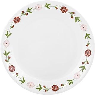 Corelle Livingware Spring Pink Dinner Plate Set, 26cm, Set of 6