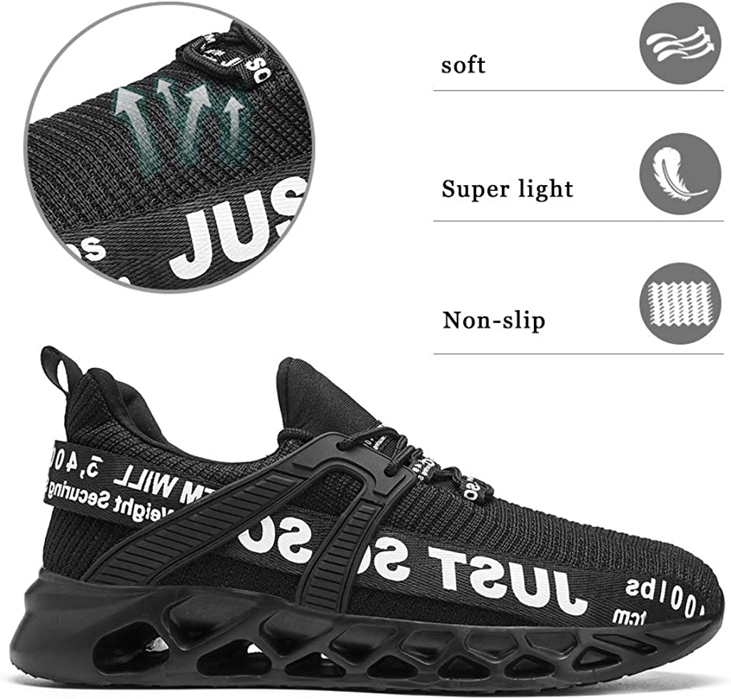Tvtaop Mens Running Shoes Comfortable Sneakers Walking Tennis Gym Athletic Shoes Casual Lightweight Workout Sports Shoes