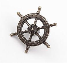 PYouo-kast handgrepen 54mm 1 STKS kapitein roer stuurgrepen, antieke creatieve enkele gat knop, keuken kast deur pull hand...