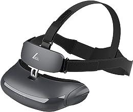 هدست های VR ، GOOVIS LITE فیلم های سه بعدی واقعیت مجازی با دو صفحه نمایش AMOLED 2K ، هدست VR همه کاره با کیف مخصوص و بند سر محافظ راحت Elite Strap کاهش فشار در VR