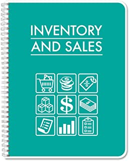 BookFactory Business Inventory & Sales/Inventory and Sales Ledger Book/Log Book/Notebook - 120 Pages, 8.5