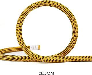 JINLINE Climbing Rope Static Rope Speed Drop Rope Lifeline 10/10.5 Mm Ropes (Size : 10.5MM 40M)