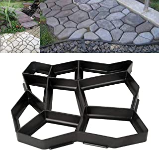 Adel store Garden Lawn Path Paver Lot Patio Driveway Concrete Stepping Stone Walk Maker Pavement Mold Brick Cement
