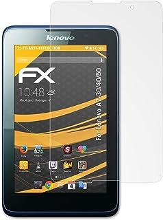 atFoliX Skärmskydd är kompatibel med Lenovo A7-30/40/50 Skyddsfilm, antireflekterande och stötdämpande FX Film (2X)