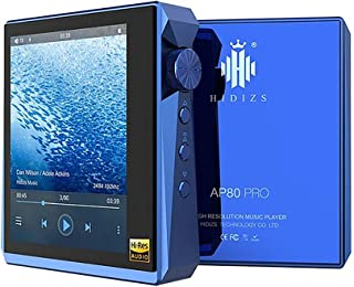 HIDIZS AP80 Pro HiFi MP3 Music Player Bluetooth LDAC/aptX/FLAC/Hi-Res Audio/FM Radio Audio Player with Full Touch Screen (...