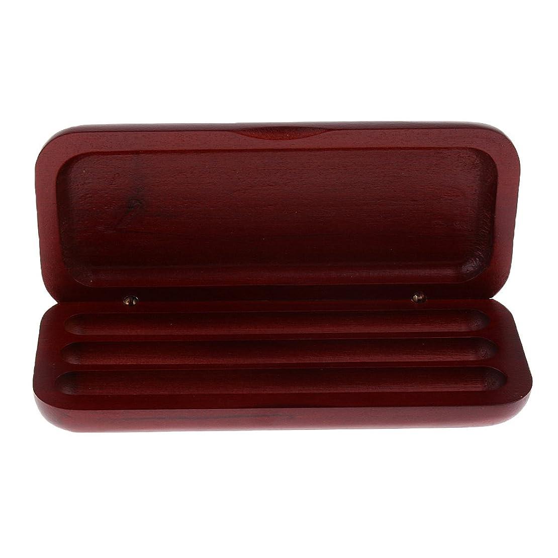 雇った書誌体操選手【ノーブランド 品】ペンケース 3ペン 鉛筆 ボールペン 万年筆 収納ボックス