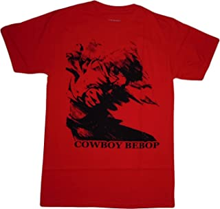 Cowboy Bebop Spike in Motion Red T-Shirt
