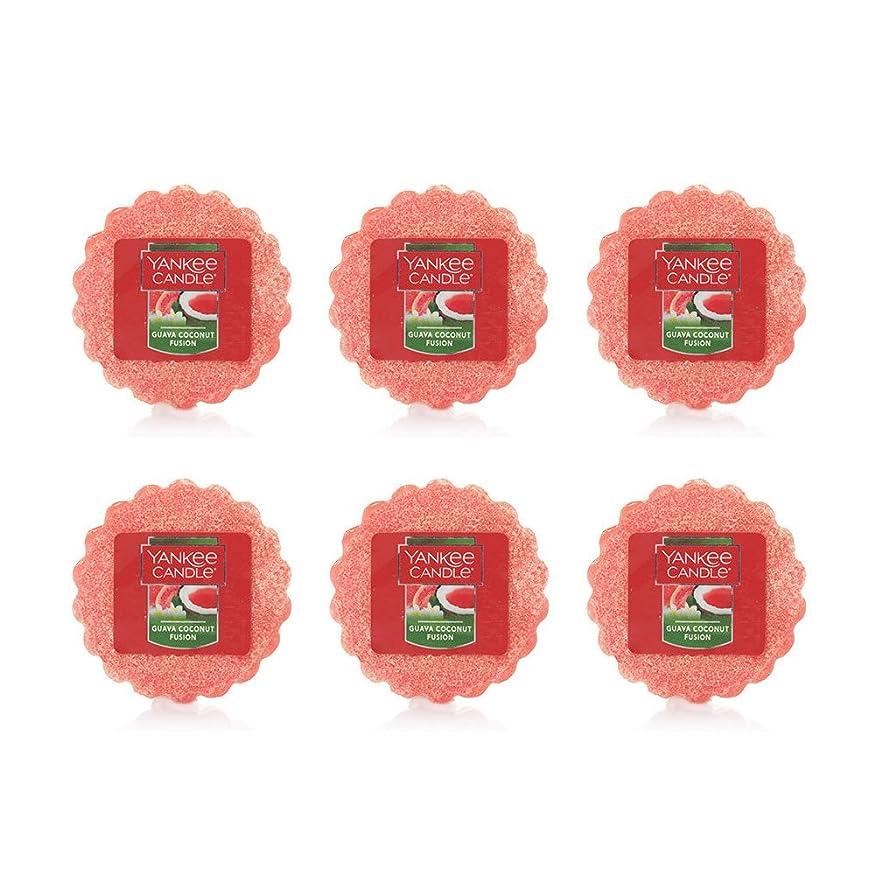 特別に絡み合い関与するYankee Candle Lot of 6?Guava Coconut Fusion TartsワックスMelts