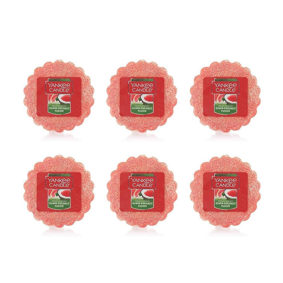 のホストハイキング陪審Yankee Candle Lot of 6?Guava Coconut Fusion TartsワックスMelts