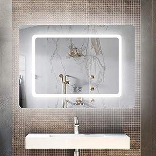 Amazon.fr : miroir salle de bain avec eclairage intégré et prise