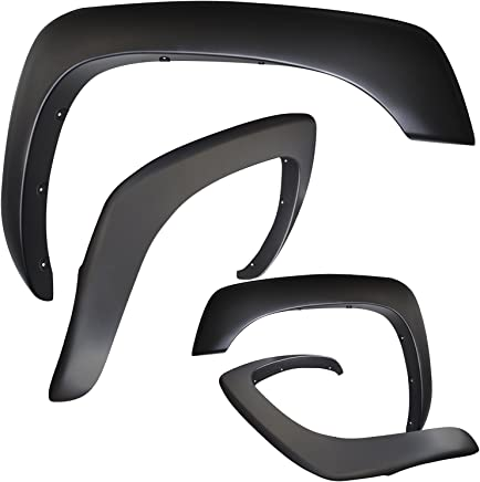 Fender Flares for 02-08 Dodge Ram 1500 2500 3500 (Pack of 4)