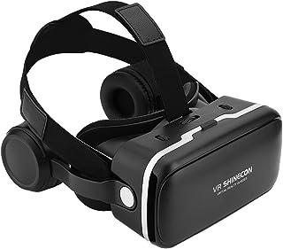 VR Auriculares, Gafas 3D Realidad Virtual Auriculares para VR Juegos & Vídeos 3D, Ajuste para 3,5