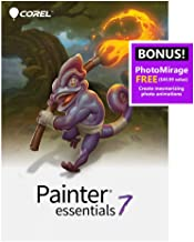 Corel Painter Essentials 7 | Digital Art Suite | Amazon Exclusive Includes Free PhotoMirage Express Valued at $49 [PC Down...