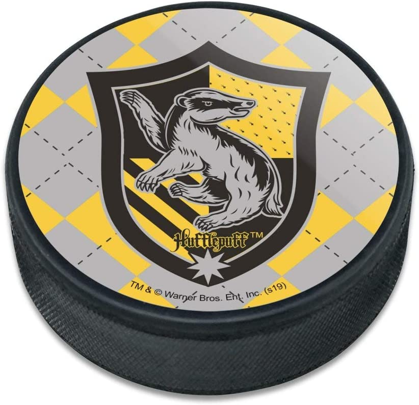 GRAPHICS Deluxe MORE Harry Potter Hufflepuff P Hockey Sigil Plaid Ice Charlotte Mall