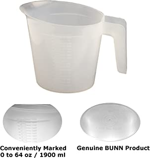 Bunn 04238.0000-2PK Water Pitcher for Pourover Coffee Brewer, 64 oz, 13
