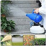 PEALOV Spruzzatore Elettrico 4.5L, Nebulizzatore ULV Micro Spruzzatore per Igiene di Giardinaggio Indoor/Outdoor, Disinfezione Antizanzare Irrigatori Industriali per Ufficio Agricolo