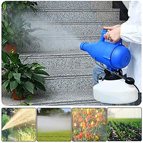 PEALOV Rociador EléCtrico 4.5L, Rociador De NebulizacióN ULV para Higiene De JardineríA En Interiores Y Exteriores, DesinfeccióN De Mosquitos, Aspersores De Riego Industriales