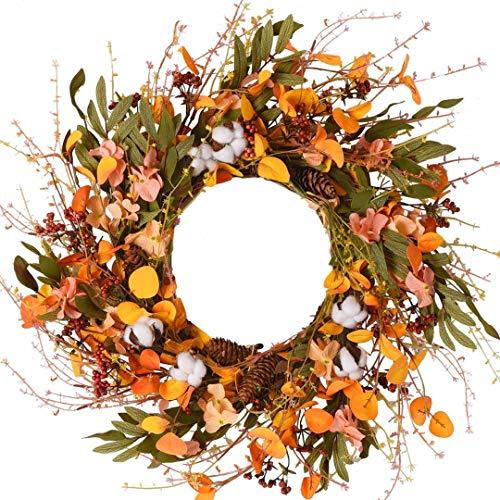 boho fall wreath