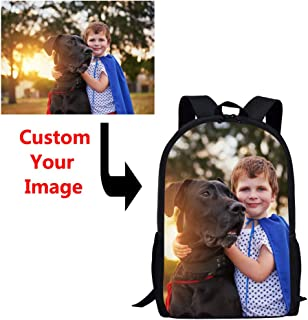 Coloranimal Unique Custom Your Own Picnic Children School Backpacks Big Capacity 16 Inch Shoulder Bagpack