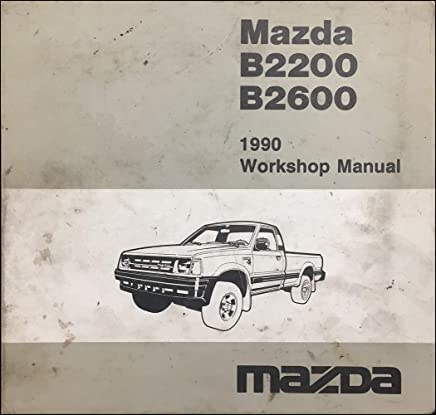 Repair Manual Mazda B2200 Books