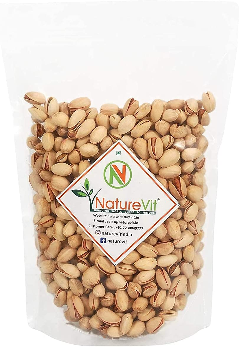 Trisha Nature VIT Whole Roasted Salted Ranking integrated 1st place High quality Pista 500g Pistachios