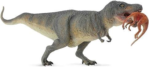 Dinozaur tyrannosaurus rex z ofiara
