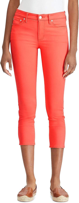 Lauren Ralph Lauren Petite Premier Skinny Crop Jeans  Calla Lilly 14P