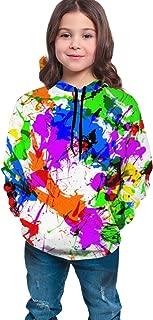 Kids Drawstring Hoodies Sweatshirts Pullover Fit Sport Tops