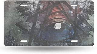 Illuminati Cave Personalized Custom Novelty Sign Tag Aluminum License Plate 6