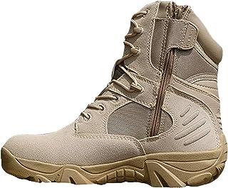 9a25827b WWJDXZ Utdoor Army Fan Shoes Botas tácticas Altas Comando Campo Desert  Combat Boots Botas Militares para