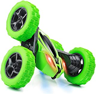 Remote Control Car, RC Stunt Car, 360 Degree Flips Double Sided Rotating Tumbling High Speed 15km/h and 2.4GHz Remote Cont...