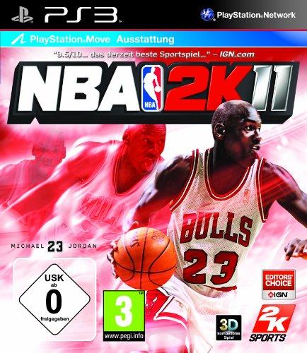 NBA 2K11 (Move kompatibel) [Importación alemana]