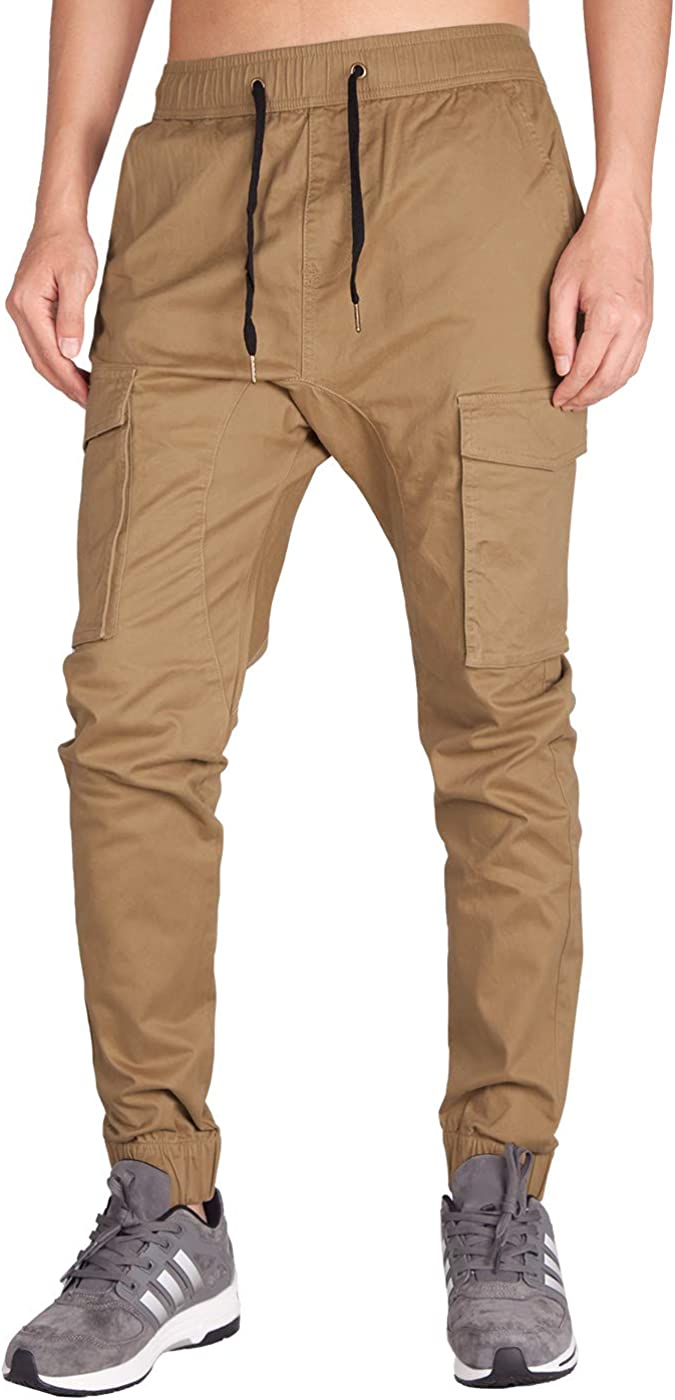 New arrival ITALY Product MORN Men's Jogger Pockets with Cargo Pants