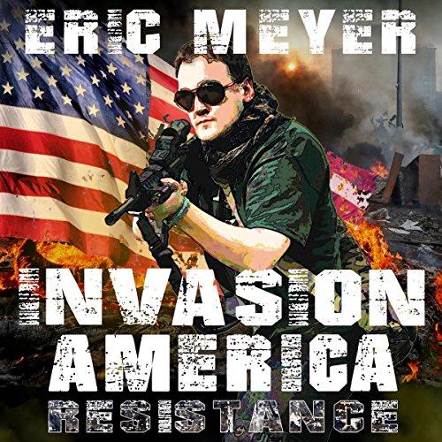 Invasion America audiobook cover art