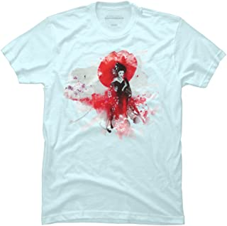 Japanese Geisha Men's Graphic T Shirt - Design By Humans