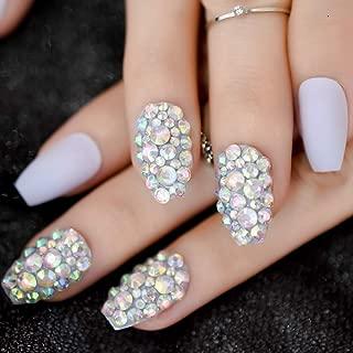 Best light purple coffin nails Reviews