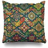 LinUpdate-Store Throw Pillow Cover Ethnische Vintage abstrakte Fliese afrikanischen Batik...